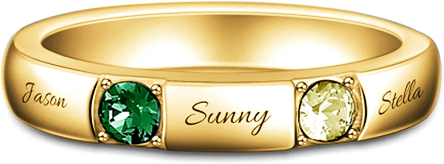 Wellhoope Personalized Ring Custom Promise Rare Sale SALE% OFF Engage Name