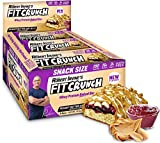 FITCRUNCH Snack Size Protein Bars, Designed by Robert Irvine, World's Only 6-Layer Baked Bar, Just...