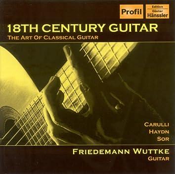 Guitar Concert: Wuttke, Friedemann – Carulli, F. / Haydn, J. / Sor, F.
