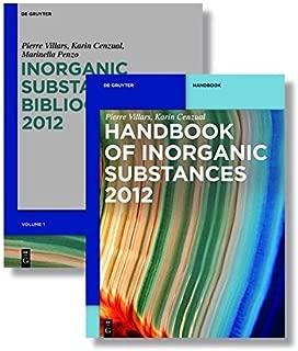 INORGANIC SUBSTANCES 2012 SET (De Gruyter Reference) by Pierre Villars (2011-11-29)