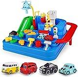 Auto Pista Macchinine Giocattolo Bambini Car, Adventure Piste da Corsa Città Rescue Vehic...