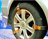Newest Easy Snow Tire Chains Heavy Duty for Truck Pickup SUV...