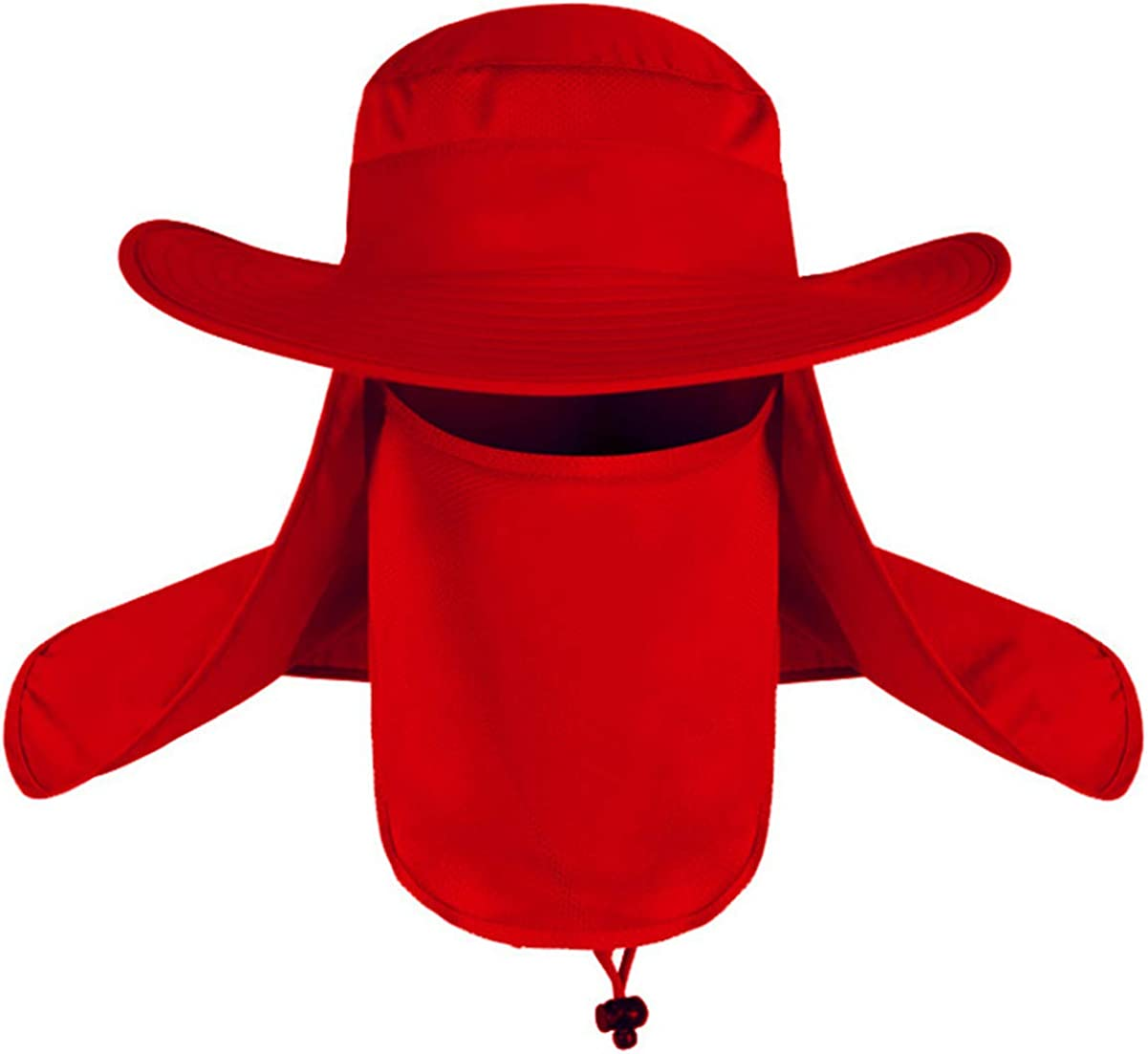 Shanghai Story Outdoor Sun Cap UPF 50+ UV Sun Protection with Neck Flap Face Cover Mask