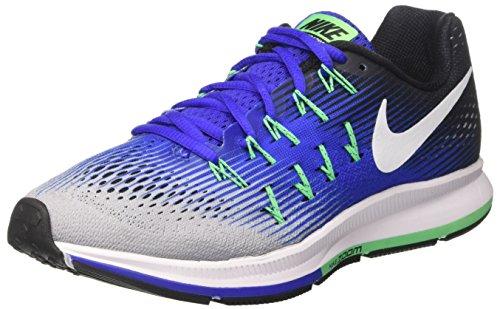 Nike Air Zoom Pegasus 33, Zapatillas de Running Hombre, Varios Colores (Wolf...
