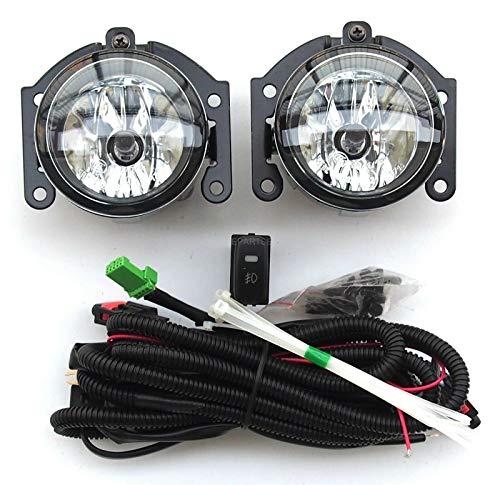 Juego de instalación de luces antiniebla delanteras y laterales izquierdo y derecho y cableado con interruptor ASX Outlander