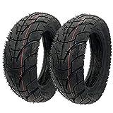 RETYLY Neumáticos 80/65-6 para Scooter Eléctrico E-Bike 10X3.0 Neumáticos de Carretera Tubos Interiores para Speedual Grace 10 Zero 2 Uds