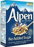 Alpen sin Azúcar- Muesli Suizo sin azúcar añadido (10 cajas de 550 gramos) Belvoir Lime & Lemongrass Presse Pack de 4 x 250 ml por Belvoir