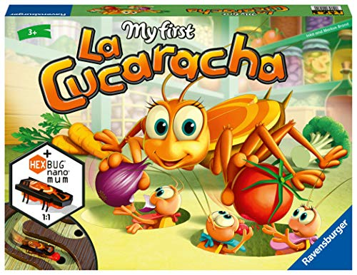 Ravensburger My First La Cucaracha, Juego para Niños, 24 Jugadores, Edad Recomendada...