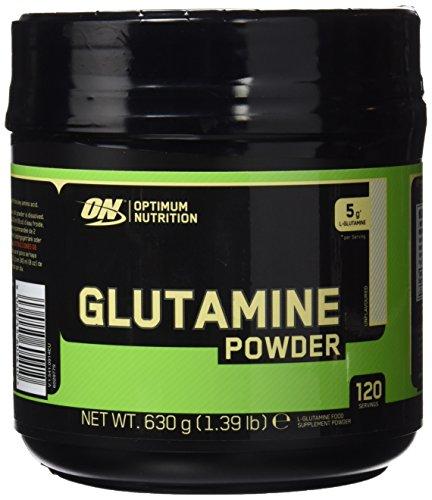 Optimum Nutrition Glutamine Suplemento para Deportistas, sin Sabor - 630 g