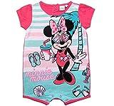 Minnie Mouse Kollektion 2018 Strampelanzug 62 68 74 80 86 92 Strampler Kurz Einteiler Maus Disney Fuchsia (Fuchsia, 86-92)