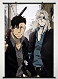 Gangsta Wall Scroll Poster Fabric Painting For Anime Worick Arcangelo & Nicolas Brown 011 S