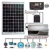 Kit panneau solaire polycristallin 800 watts 230V, panneau solaire...