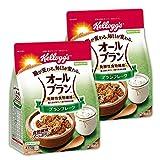 【Amazon.co.jp限定】 ケロッグ オールブラン ブランフレーク 徳用 435g×2袋【セット買い】 機能性表示食品