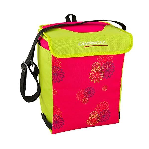 51biGj54xXL. SS600  - CAMPINGAZ Kühltasche Pink Daisy Faltbar - Nevera para Acampada