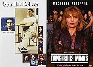 They Broke The Rules And Changes The Kids Lives - Stand And Deliver & Dangerous Minds 2-DVD Collection