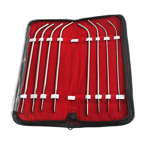 OdontoMed2011 Van Buren Dilator Set of 8 Sounds, URETHRAL Sounds Tools ODM