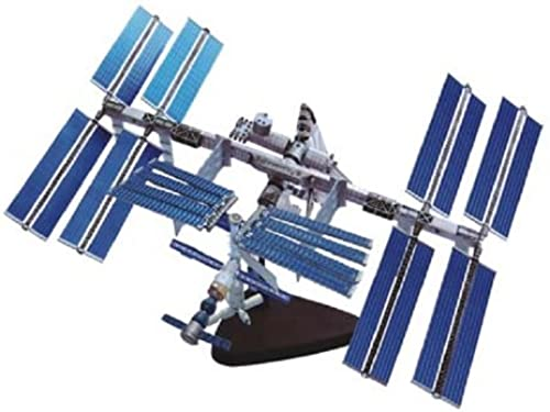 Three-dimensional puzzle 4D puzzle International Space Station and space shuttle (japan import)