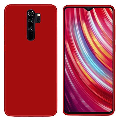 TBOC Funda de Gel TPU Roja para Xiaomi Redmi Note 8 Pro - Xiaomi Red Rice Note 8 Pro [6.53