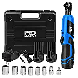 Prostormer 12V Electric Ratchet Tool Kit