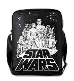Logoshirt Star Wars bandolera - La bolsa de mensajero del hombre - La guerra de las galaxias - Star Wars - Diseño original con licencia