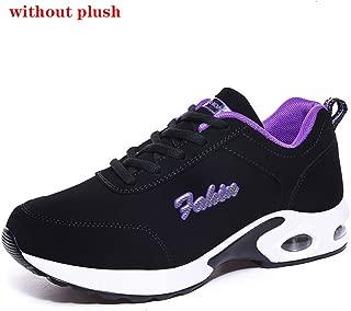 SKLT Platform Sneakers Women Air Cushion Running Shoes Mesh Plush Warm Ladies Basket Trainers Casual Damping Jogging