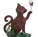 Beetstecker *Katze* Dekofigur Katzenfigur - H60cm