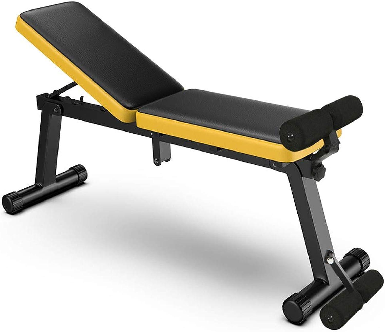 Dumbbell Folding Chair Adjustment Bench Fitness Equipment Flat Press 60  33  34cm MUMUJIN