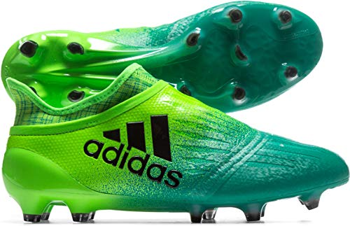 adidas Herren X 16+ Purechaos FG Fußballschuhe, Grün (solar Green/core Black/core Green Yellow), 44 EU