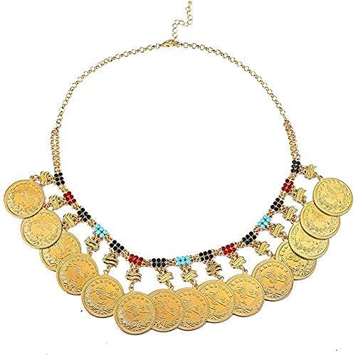 Islam, Oriente Medio, joyería africana, nueva moneda de metal, grandes collares musulmanes de Alá para mujeres, monedas árabes, regalos de boda