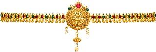 Jaipur Mart Preyans Kamarband Belly-Chain Tagdi for Women (Golden) (KMBND202MG)