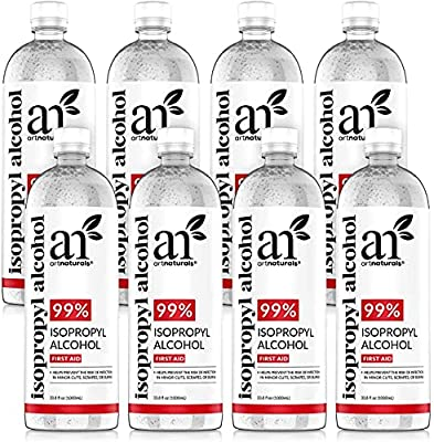Isopropyl Alcohol 99% Pure - 33.8OZ - Made in The USA