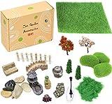 Zen Garden Accessories, Fairy Garden Miniatures, Sandbox Decorations, Zen Tray Items, Terrarium Ornaments, Dollhouse Supplies, Desk Top Figurines, Bonsai Craft
