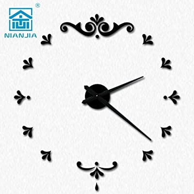 Znzbzt The oversized living room wall clock modern art-form personalized clock creative Clocks