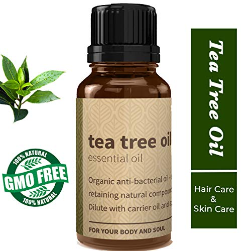 Rouh Essentials Tea Tree Essential Oil, Pure and Organic, 15ml