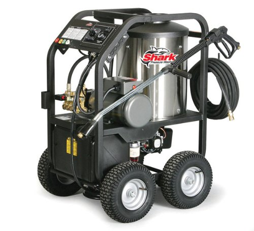 Read About Shark STP-201507D 1,500 PSI 1.9 GPM 120 Volt Electric Hot Water Commercial Series Pressur...