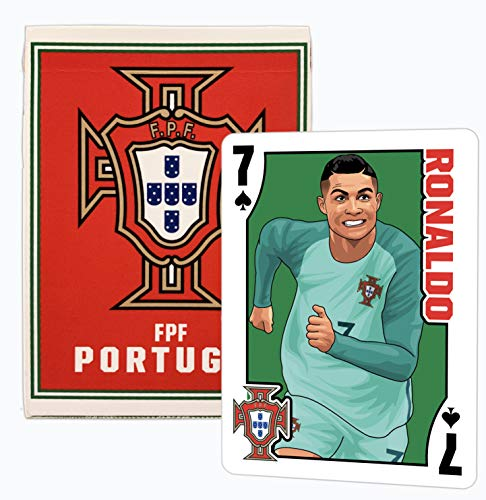 Portugal National Football Club FPF Playing Cards