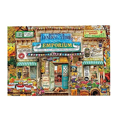Puzzle 1000Pcs,Aimee Stewart - Rompecabezas De Tienda Genera