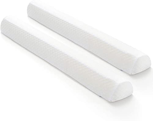 Toddler Bed Rail Bumpers [2 Pack] Safety Sleep Bedside Rail Guard for Toddlers & Kids & Baby | Memory Foam Long Pillo...