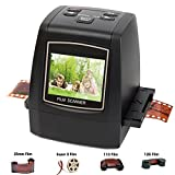 DIGITNOW! 22MP Film & Slide Scanner All-in-1, Super 8 Film,110/126 Film, 35mm Negative/Slide