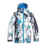 Quiksilver EQBTJ03098 Veste de Ski/Snowboard Garçon, Cloisonne Random Pics, FR (Taille Fabricant : 14/XL)