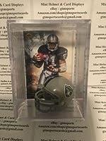Tim Brown Oakland Raiders Mini Helmet Card Display Shadowbox Case Collectible Auto HOF WR
