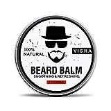 Beard Oil, Duvina Bartöl und Conditioner für Männer zur Bartpflege rein natürliche Bartpflege Intensive Bartpflege Natürlich Biologisch Bart Öl Natürliches organisches Haarwachstumsöl (60ml-b)