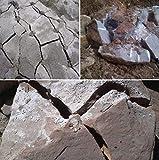 Cemento expansivo demoledor, para romper piedras y hormigones con total seguridad,sin explosiones,sin ruidos, sin vibraciones.