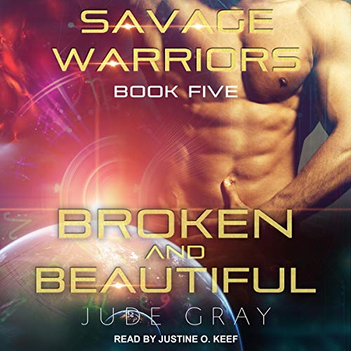 Broken and Beautiful audiobook cover art