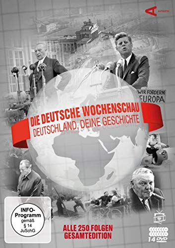 Die Deutsche Wochenschau - Deutschland, deine Geschichte: Alle 250 Folgen Gesamtedition (14 Discs)