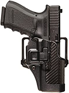 Serpa Blackhawk CQC Concealment Holster Carbon-Fiber Finish - Colt 1911 Commander with or Without Rail