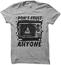 Don't Trust Anyone Shirt. Big Brother 1984 Television All Seeing Eye Illuminati Pyramid Conspiracy Elections NWO Anti Government Shirt.
