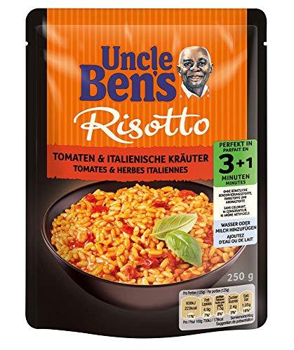 Uncle Ben's Express Fertiggerichte Tomaten & italienische Kräuter, 6 Packungen (6 x 250g)