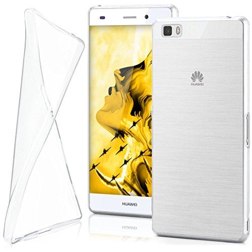 MoEx® AERO Case Transparente Handyhülle passend für Huawei P8 Lite 2015 | Hülle Silikon Dünn - Handy Schutzhülle, Durchsichtig Klar