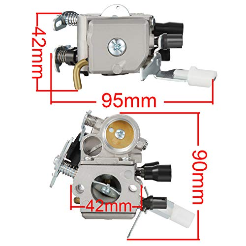 Madlife Garage Vergaser 11391200612 für Stihl MS181 MS211 MS171 MS201